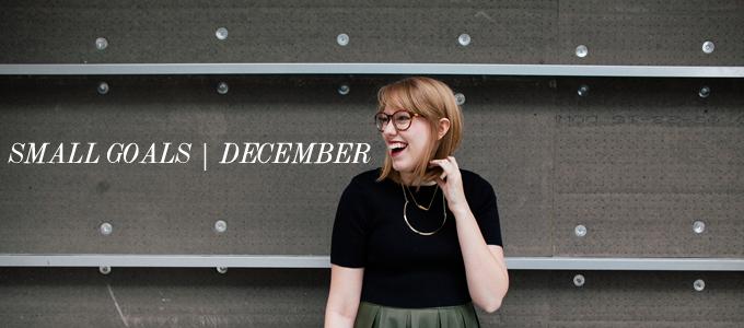 small goals december