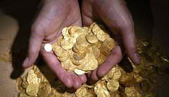 Ottoman gold coins seized in Gaza