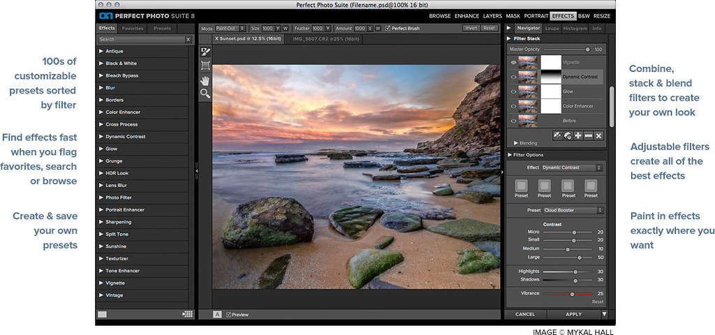 on1 effects 10.5 plug-in for adobe photoshop