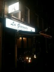 La Gioconda - newish Italian restaurant on Hornsey High Street. Is very good...