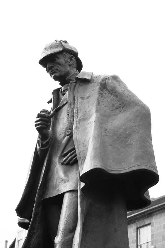 Sherlock Holmes - Statue