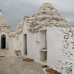 Trullo homes in Alberobello - Puglia, Italy