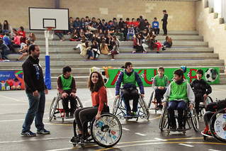 SALTO Bera-Bera celebrate International Day of People with Disability with Axular School students in San Sebastian / Donostia