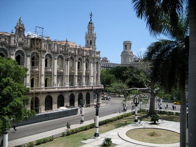 Cuba with kids: Havana city centre