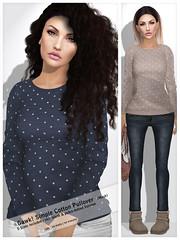 Gawk! Simple Cotton Pullover (Mesh) - F R O S T  2015