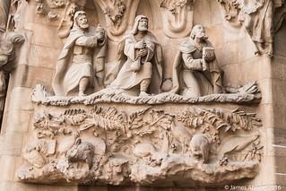 사그라다 파밀리아 성당 Gràcia 근처 의 이미지. barcelona canon70d lasagradafamilia spain catalunya es