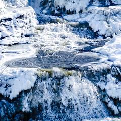 Frozen Paine Falls