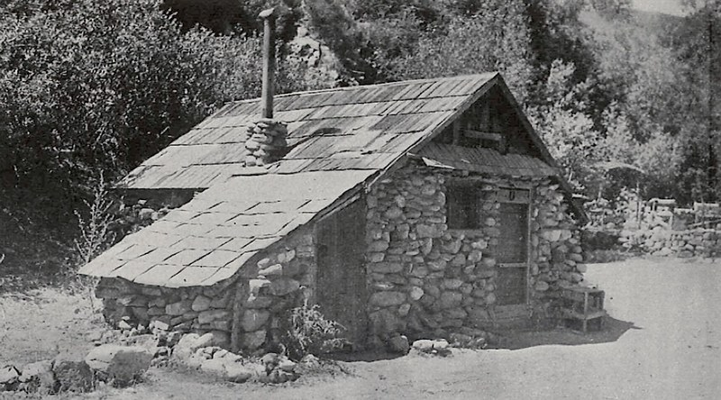 Fred Maley Cabin built in 1894