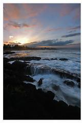 Sunset in Hilo, Big Island, Hawaii