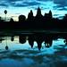 Sunrise in Angkor Wat -  CAMBODIA by Davide_Ongaro