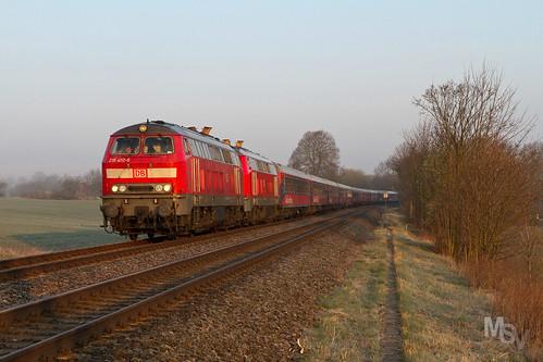 DB 218 401 + 401 - Oberjößnitz