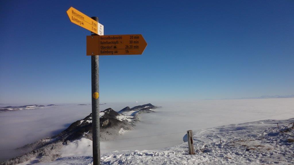 2017-01-26 Schneeschuhtour Röti