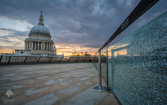 Cloudy Sunset at St. Paul's Cathedral