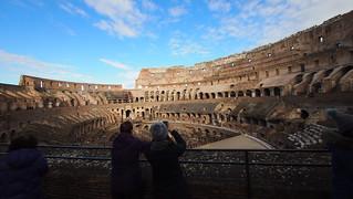 صورة Colosseum قرب Roma Capitale. trip20170208 rzym roma muzeumwatykańskie colosseum geo:lon=12492542 geo:lat=41889725