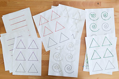pattern tracing sheets of 3d pens