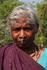 Local woman in the tribal village of Gadiseskal - Odisha