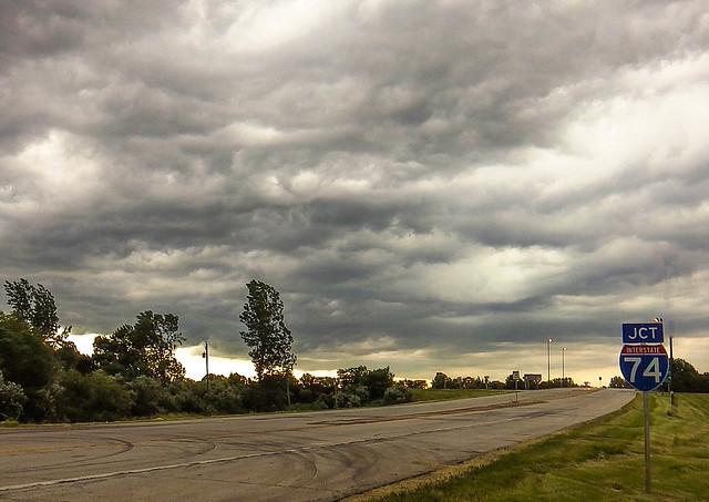 Skies Near Mansfield, Il - June 2014
