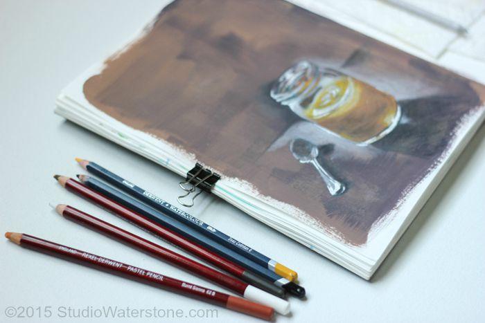 Sketchbook: Azaleas and Honey