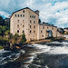 Elora Mill Pano by d. pilic