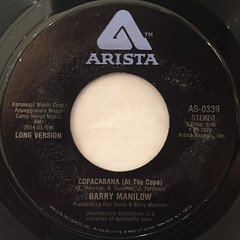 BARRY WHITE:COPACABANA(AT THE COPA)(LABEL SIDE-B)
