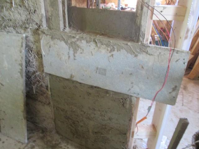 deux premières briques décofrées