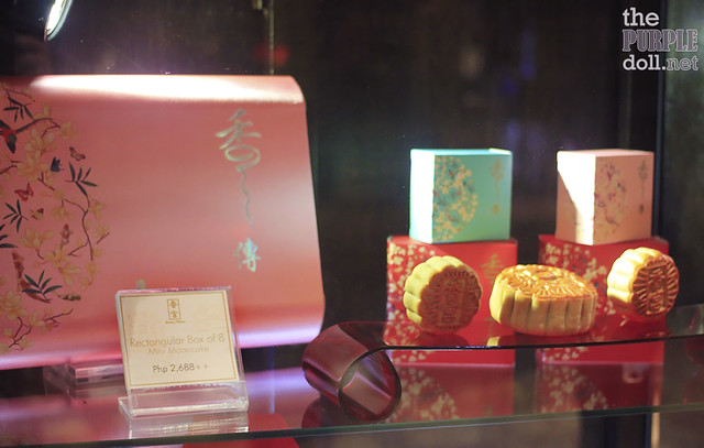 Rectangular Box of 8 Mini Mooncakes