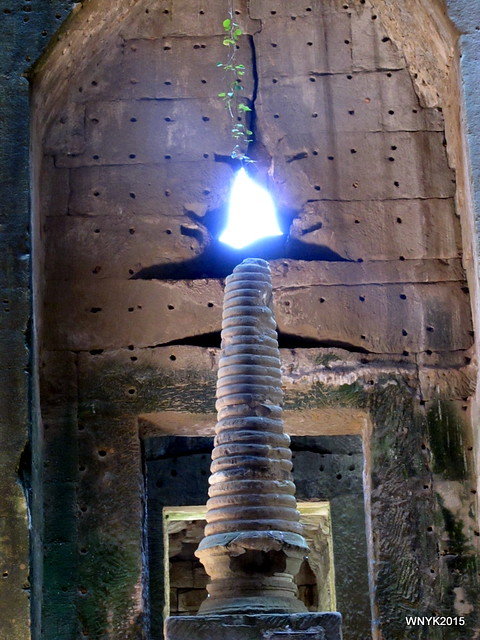 Lighted Stupa