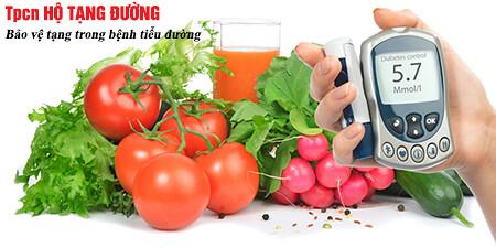 Kiểm soát đường huyết với chế độ ăn uống lành mạnh