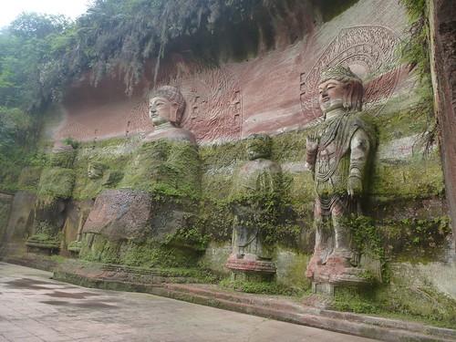 CH-Leshan-Bouddha oriental (21)