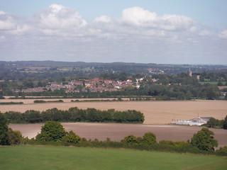 Harlington from Sundon Hills
