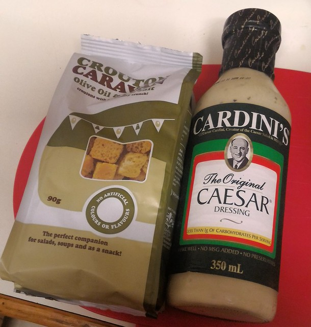 Cardinis caesar dressing