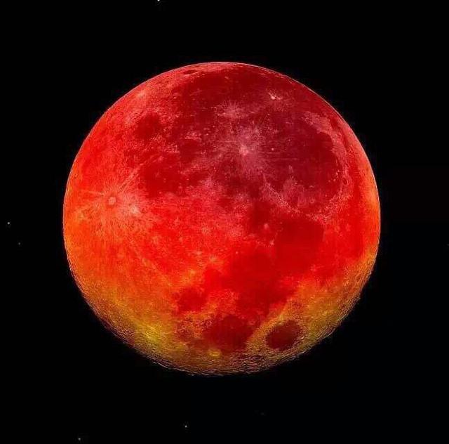 峇厘島血月