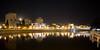 Night panorama of Wrocław
