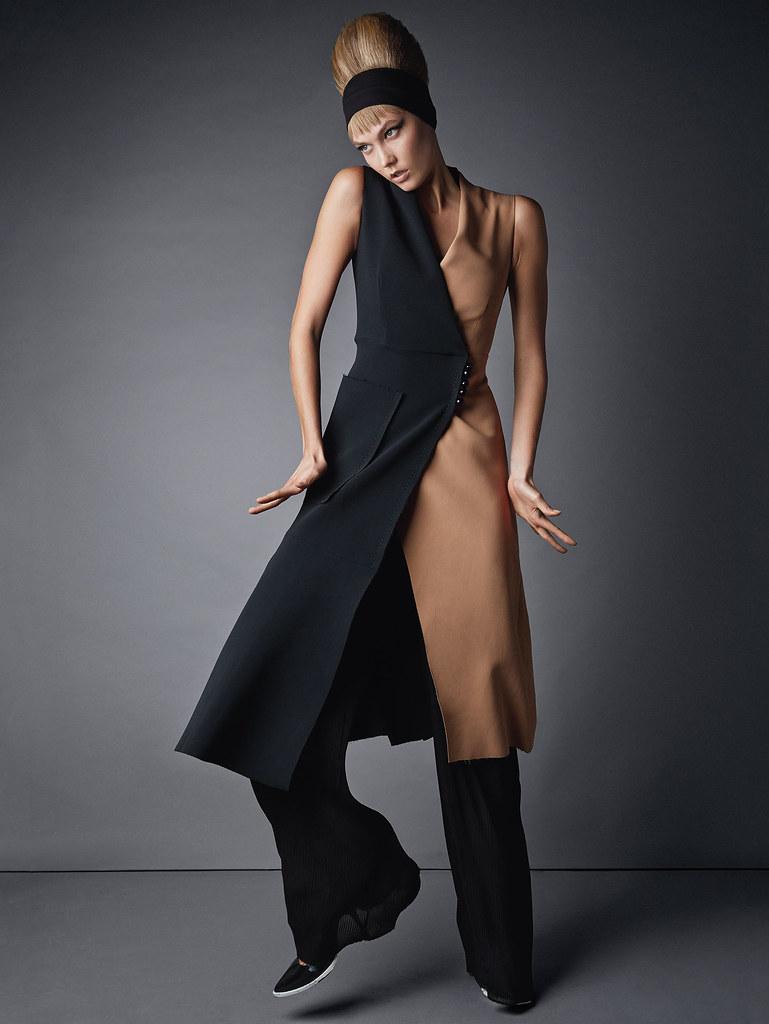 Карли Клосс — Фотосессия для «Vogue» UK 2015 – 5