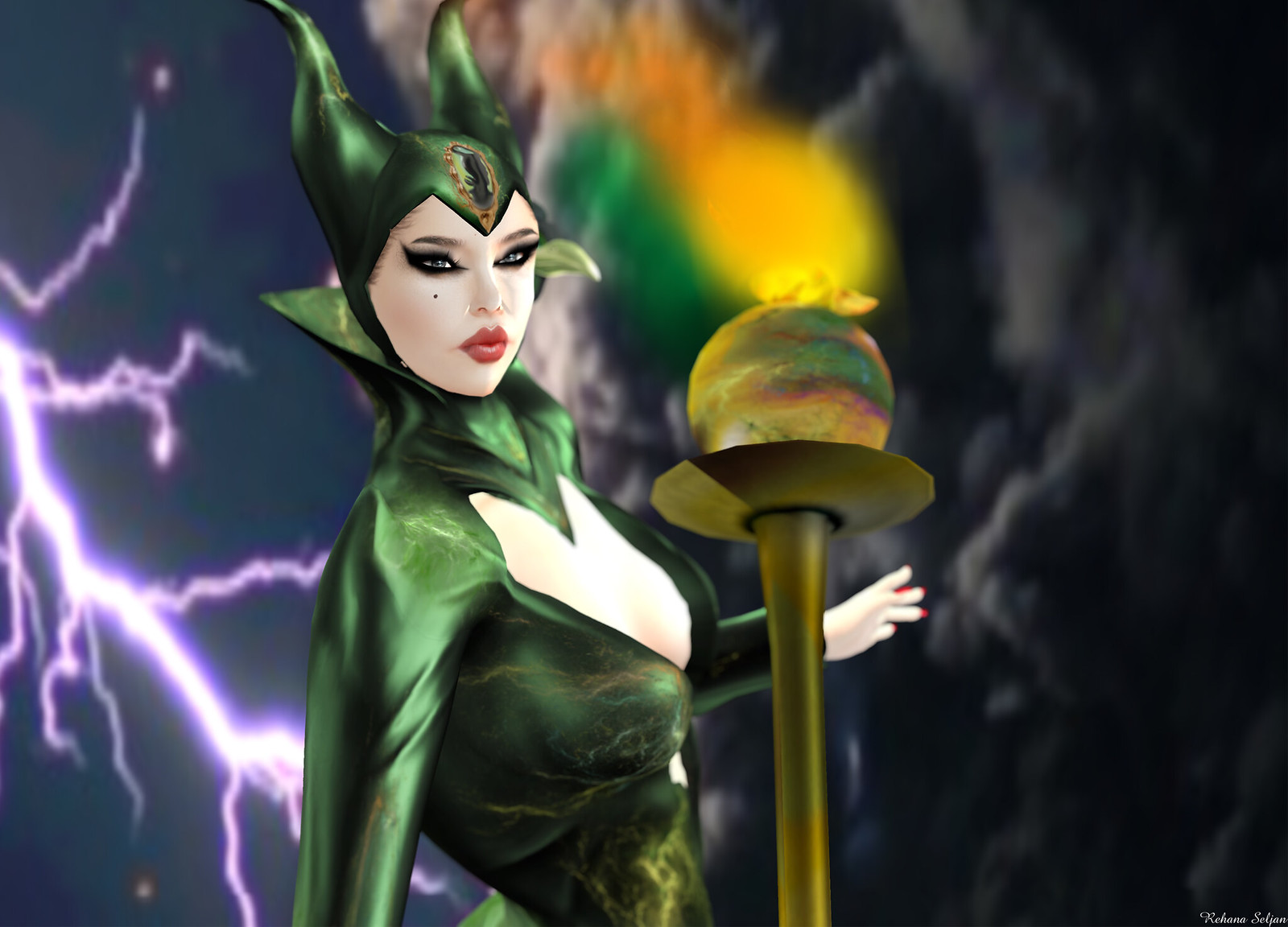 BamPu Legacies - Maleficent Charmed