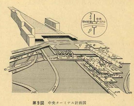 新幹線新宿駅2