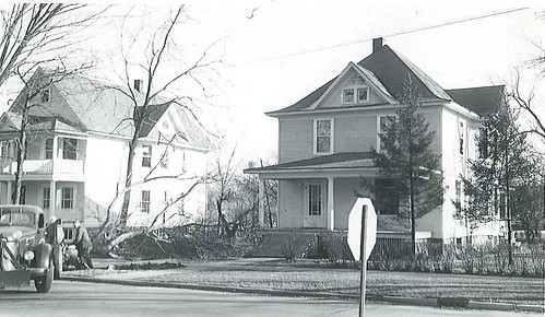1948-639 Hale St Wheaton IL after strong wind blew down tree