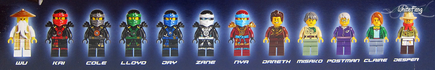 Pictures Of Ninjago Characters