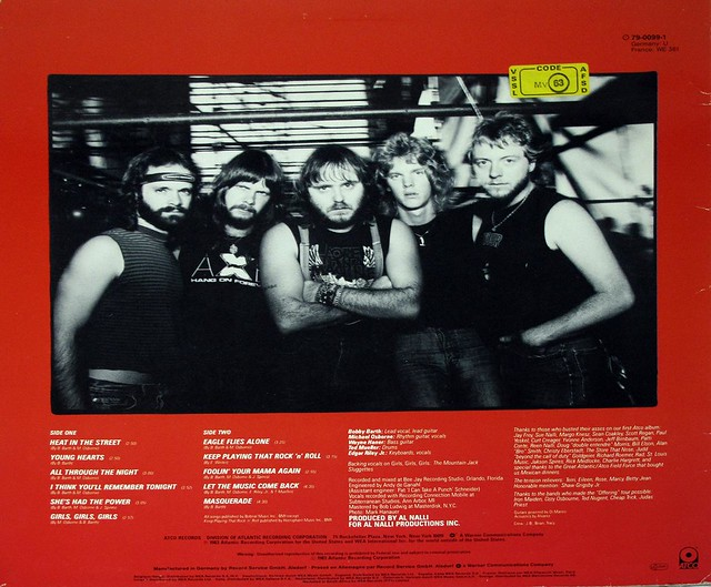 "AXE NEMESIS 12"" Vinyl LP"