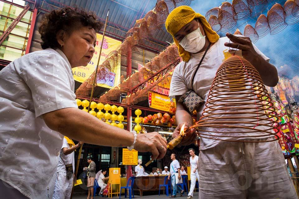 Thailand Vegetarian Festival @ Bangkok, Thailand