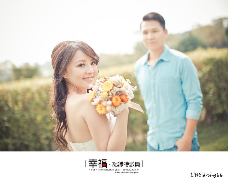 『自助婚紗』妳的微笑是我最大的驕傲