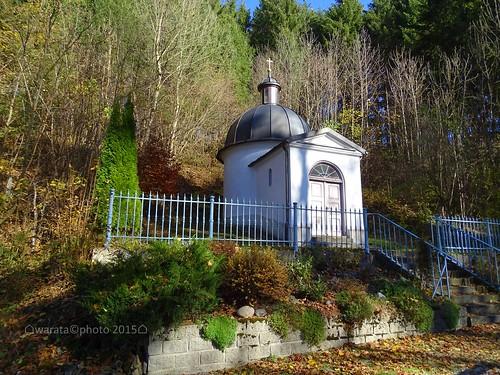 Die Ölbergkapelle am Kalvarienberg in Görisried