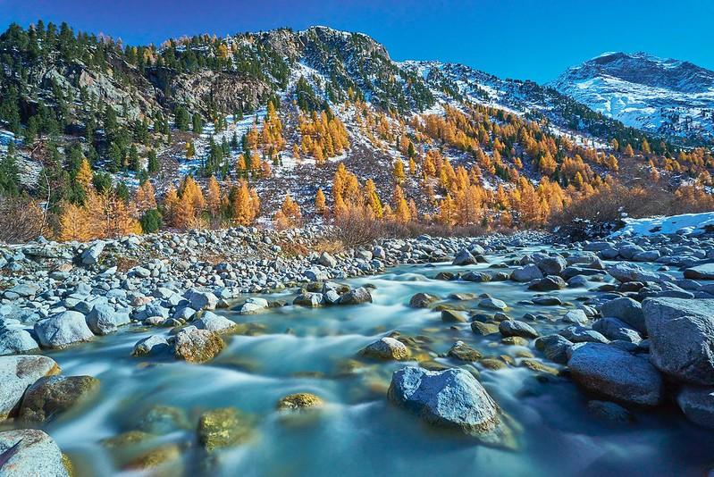 River - Val Morteratsch