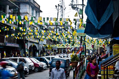 Bazaar Area, Kalimpong