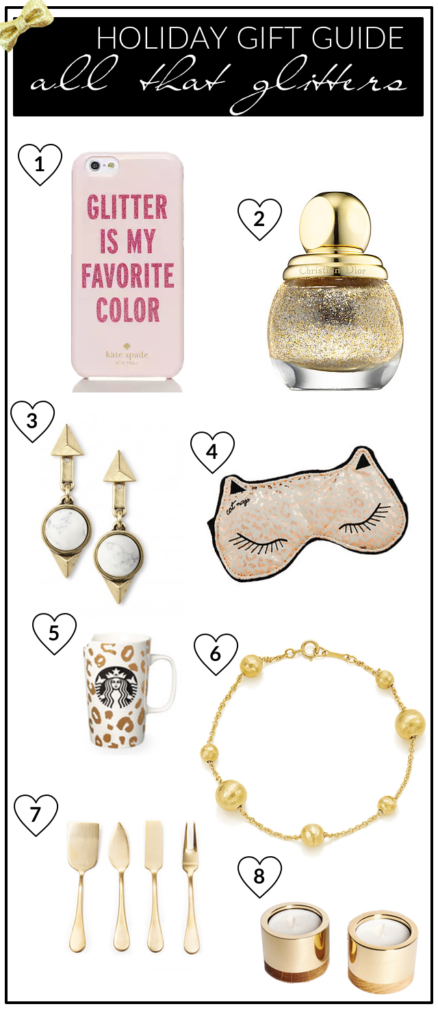 All that Glitters - Holiday Gift Guide 2015