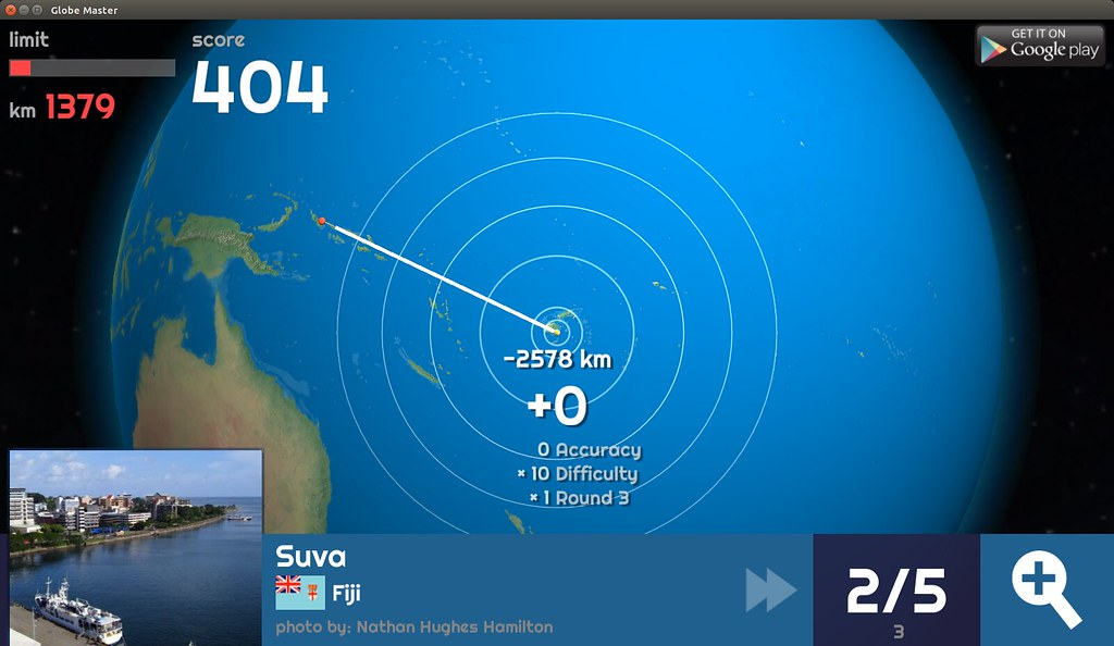 Globe Master 3D - Suva