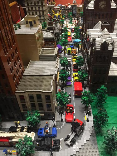 DSO Lego display street scene
