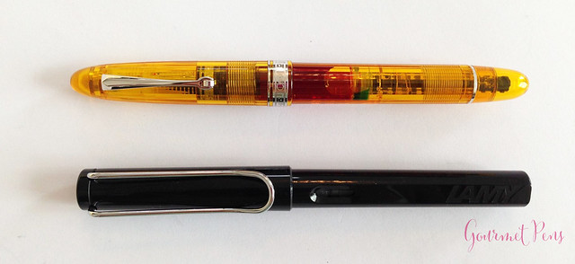 Review Omas Ogiva Cocktail Fountain Pen - Stub @Omas_Official (5)