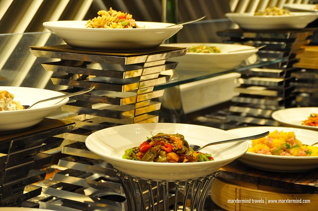 Dinner Buffet Table at Cafe Eight Crimson Hotel Manila