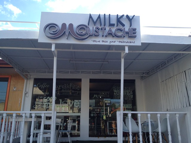 Yummy Milky Moustache at BF Aguirre | iMunch